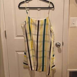 1. State Striped Mini Dress NWT